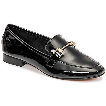 Cipők Női Mokkaszínek Betty London PANDINO Fekete