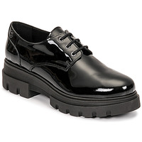 Cipők Női Oxford cipők Betty London PANDINU Fekete