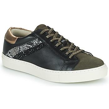 Cipők Női Rövid szárú edzőcipők Betty London PITINETTE Fekete