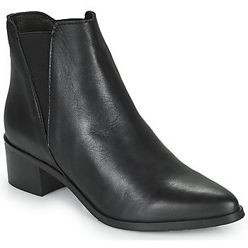Cipők Női Bokacsizmák Betty London PERDRIX Fekete