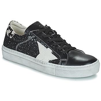 Cipők Női Rövid szárú edzőcipők Betty London PAVLINA Fekete