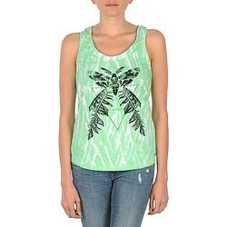 material Női Trikók / Ujjatlan pólók Eleven Paris PAPILLON DEB W Zöld / Fehér