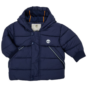 Ruhák Fiú Steppelt kabátok Timberland ASSAGAC Tengerész