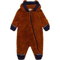 Ruhák Fiú Steppelt kabátok Timberland AGNATE Barna