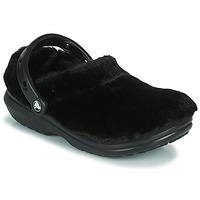 Cipők Női Klumpák Crocs CLASSIC FUR SURE Fekete