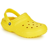 Cipők Klumpák Crocs CLASSIC LINED CLOG Citromsárga