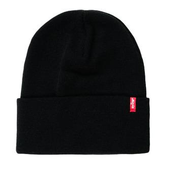 Textil kiegészítők Sapkák Levi's SLOUCHY RED TAB BEANIE Állandó / Fekete