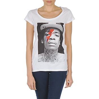 Ruhák Női Rövid ujjú pólók Eleven Paris KALIFA W Fehér