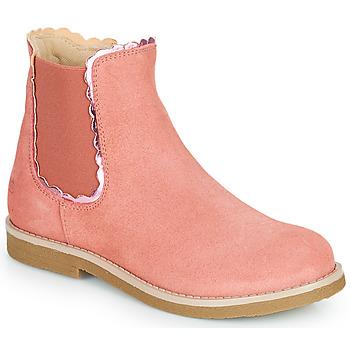 Cipők Lány Csizmák Citrouille et Compagnie PRAIRIE Rózsaszín