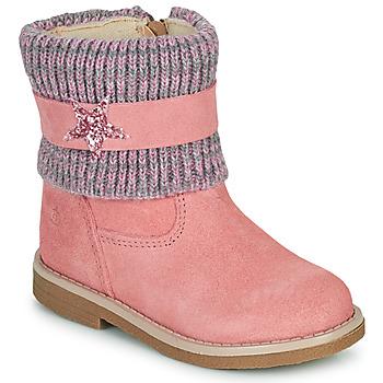 Cipők Lány Csizmák Citrouille et Compagnie PASTEK Rózsaszín