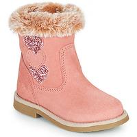 Cipők Lány Városi csizmák Citrouille et Compagnie PARAVA Rózsaszín