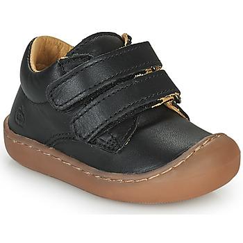 Cipők Gyerek Rövid szárú edzőcipők Citrouille et Compagnie PIOTE Fekete
