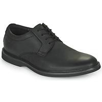 Cipők Férfi Oxford cipők Clarks ATTICUS LTLACE Fekete
