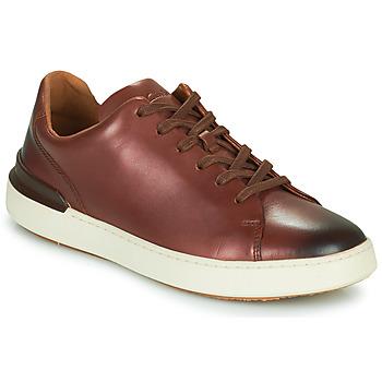 Cipők Férfi Oxford cipők Clarks COURTLITE LACE Barna