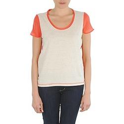 Ruhák Női Rövid ujjú pólók Eleven Paris EDMEE Bézs / Narancssárga