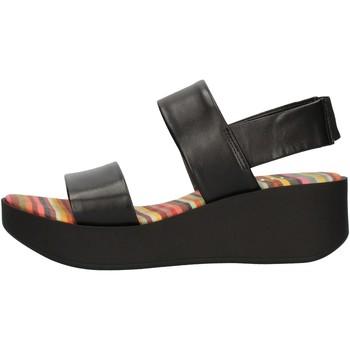 Cipők Női Szandálok / Saruk The Flexx DS21F254810 Black