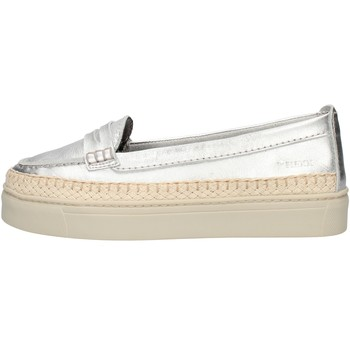 Cipők Női Mokkaszínek The Flexx DS21D102911 Silver