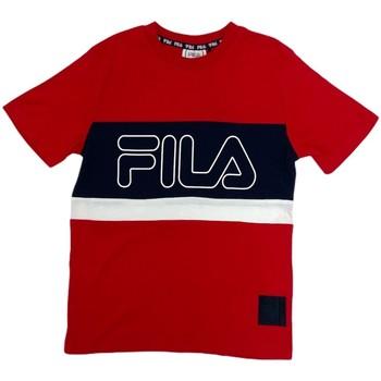 Ruhák Gyerek Rövid ujjú pólók Fila 688138 Piros
