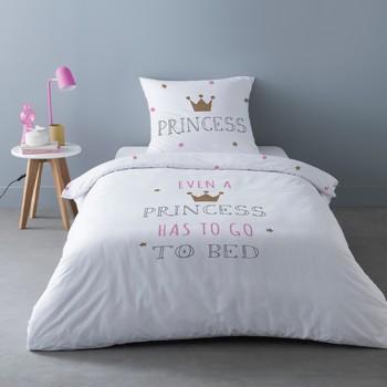 Otthon Ágyneműhuzat Mylittleplace SLEEPY PRINCESS Fehér