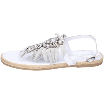 Cipők Lány Szandálok / Saruk Holalà BH20 Fehér