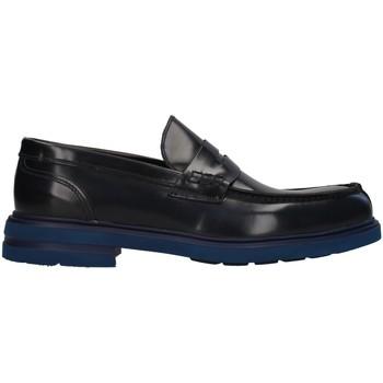 Cipők Férfi Mokkaszínek Antony Sander 100 BLUE