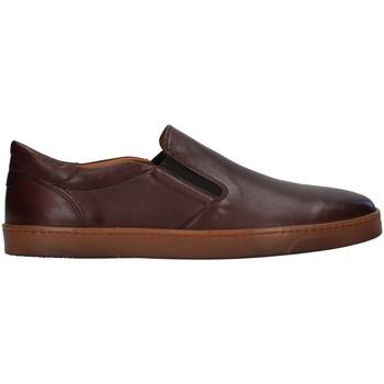 Cipők Férfi Mokkaszínek Rossano Bisconti 353-10 BROWN