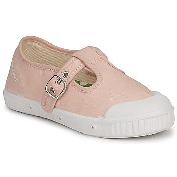 Shoes Gyerek Rövid szárú edzőcipők Springcourt MS1 CLASSIC K1 Rózsaszín