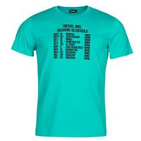 Ruhák Férfi Rövid ujjú pólók Diesel T-DIEGOS Kék
