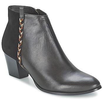 Cipők Női Bokacsizmák Bocage MANNUELA Fekete