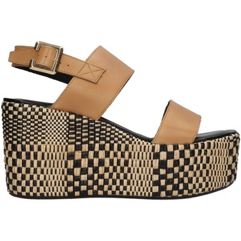 Cipők Női Szandálok / Saruk Paola Ferri D7421 BEIGE