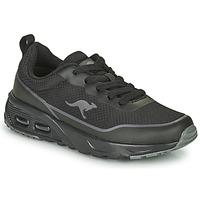 Cipők Fiú Rövid szárú edzőcipők Kangaroos KX-3500 Fekete