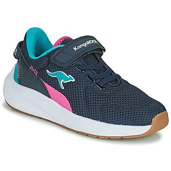 Cipők Lány Rövid szárú edzőcipők Kangaroos K-FORT JAG EV Kék