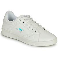 Cipők Női Rövid szárú edzőcipők Kangaroos K-TEN II Fehér