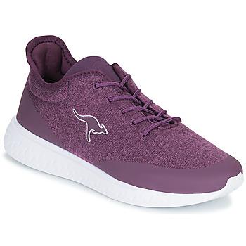 Cipők Női Rövid szárú edzőcipők Kangaroos K-ACT SCREEN Lila