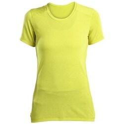 Ruhák Női Rövid ujjú pólók Saucony SAW800023 Citromsárga