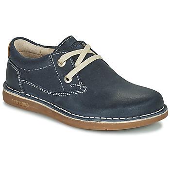 Cipők Gyerek Oxford cipők Birkenstock MEMPHIS KIDS Kék / Sötét