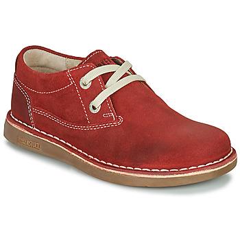 Cipők Gyerek Oxford cipők Birkenstock MEMPHIS KIDS Piros