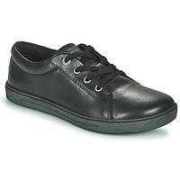 Cipők Gyerek Rövid szárú edzőcipők Birkenstock ARRAN KIDS Fekete