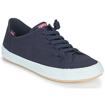 Cipők Női Rövid szárú edzőcipők Camper HOOPS Kék