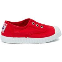 Cipők Gyerek Tenisz Cienta Chaussures en toiles  Tintado rouge