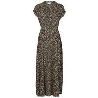 Ruhák Női Hosszú ruhák Betty London  Fekete  / Sokszínű