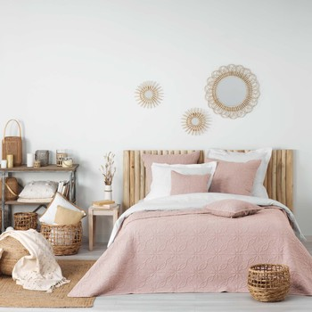 Otthon Takaró Douceur d intérieur FLORETTE Rózsaszín