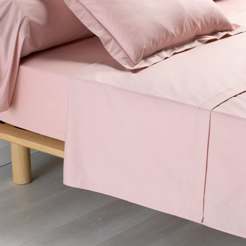 Otthon Lepedő Douceur d intérieur PERCALINE Rózsaszín