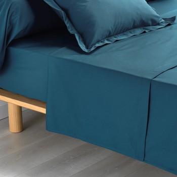 Otthon Lepedő Douceur d intérieur PERCALINE Kék