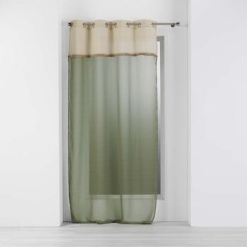 Otthon Függönyök Douceur d intérieur GREENYBEL Zöld