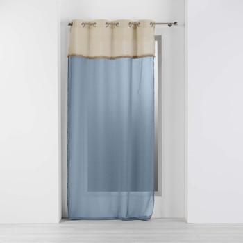 Otthon Függönyök Douceur d intérieur GREENYBEL Kék