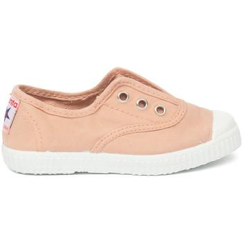 Cipők Gyerek Tenisz Cienta Chaussures en toiles  Tintado rose clair