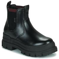 Cipők Női Csizmák Buffalo ASPHA CHELSEA Fekete