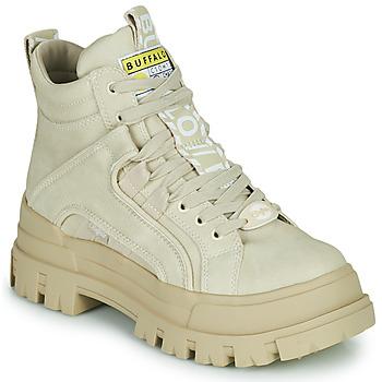 Cipők Női Csizmák Buffalo ASPHA NC MID Bézs