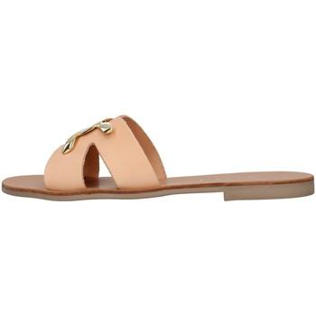 Cipők Női Papucsok S.piero E1-039 BEIGE
